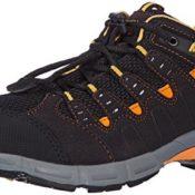 Meindl Respond Junior 680130, Unisex - Kinder Trekking- und Wanderschuhe, Schwarz (schwarz/orange 1), EU 32