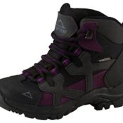Mckinley Trek-Stiefel Santiago Ii Aqx Jr. - black/grey/purple, Größe:31