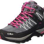 CMP Damen Trekking Schuhe Rigel Mid, grau (grey fuxia ice 103Q), 38, 3Q12946