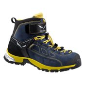 SALEWA JR ALP PLAYER MID GTX, Unisex-Kinder Trekking- & Wanderstiefel, Blau (Winter Night/Ringlo), 37 EU (4 Kinder UK)